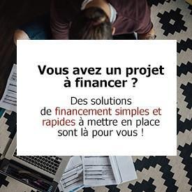 Vous avez un projet à financer ?