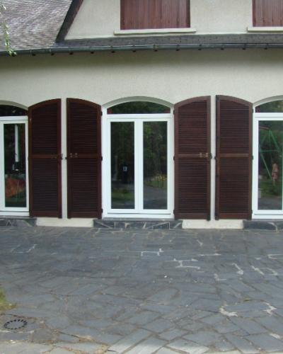Porte Fenêtres PVC Blanc