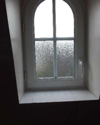 Fenêtre cintrée PVC Blanc