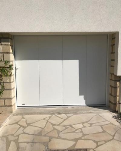 Porte de garage Sectionnelle latérale France Fermeture - Essonne (91)