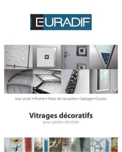 EURADIF - Vitrage décoratifs - Porte d'entrée