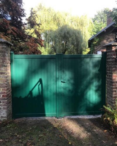 Portail Aluminium Cadiou Vert