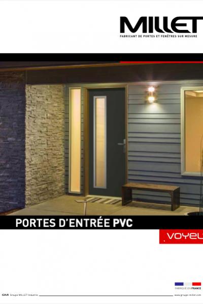 MILLET - Portes d'entrée PVC