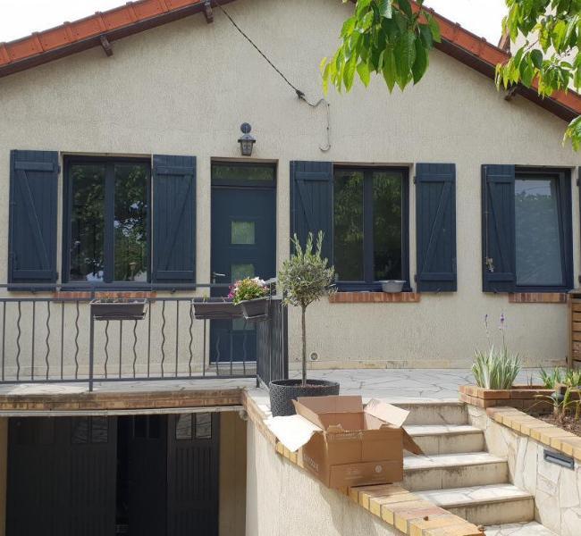 Fenêtre PVC bi-colore intérieur / extérieur