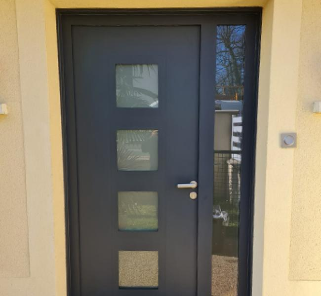 Porte d'entrée Aluminium de la marque BEL'M