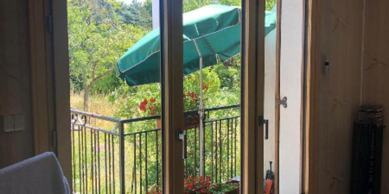 Porte fenêtre Mixte Bois Aluminium