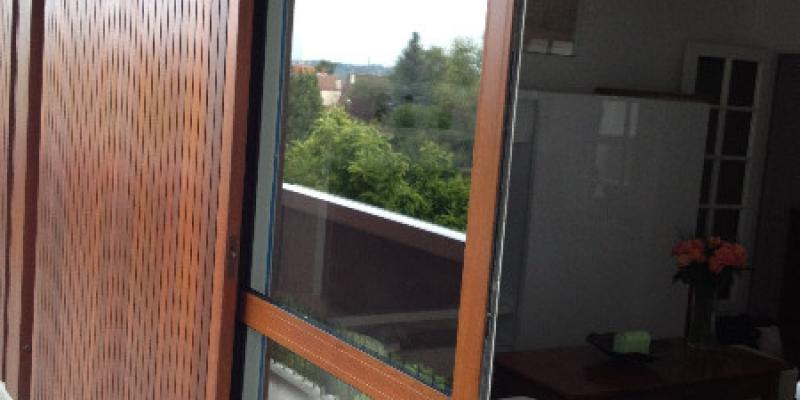 Porte Fenêtre à galandage - Aluminium Bicolore