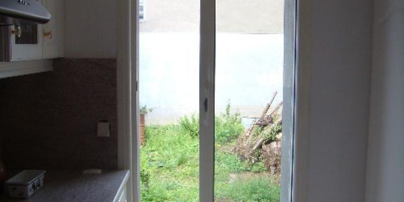 Fenêtre Coulissante ALU Blanc, dimension sur mesure