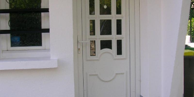 Porte PVC Blanc Personnalisée