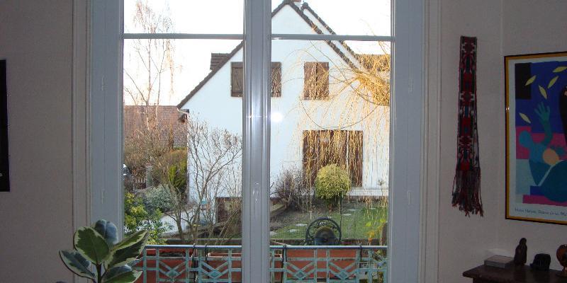 Renovation Maison - Fenêtre PVC Blanc, Ouverture à la française
