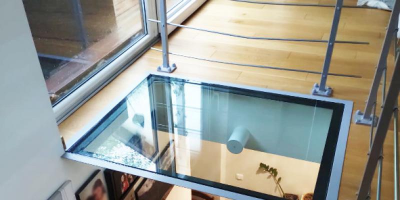 Puîts de lumière Escalier - Fabrication AMTB