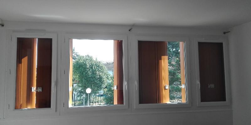 Fenêtres et Persiennes en PVC - Renovation appartement en copropriété