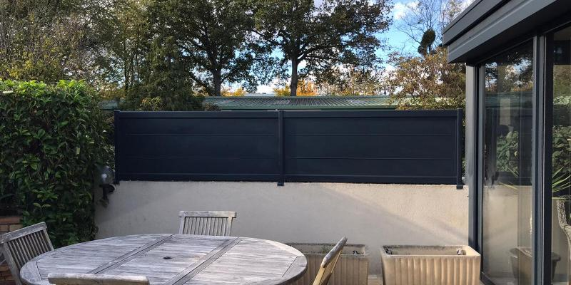 Portail, portillon et clotûre en aluminium CETAL