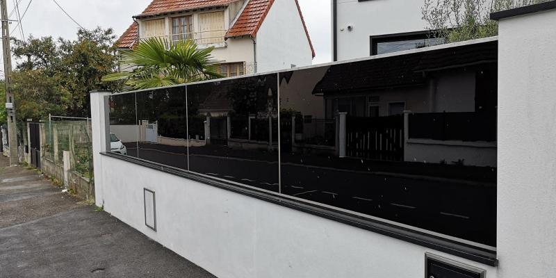 Clôture Noir Design Et Modernité Portail-Cloture AMTB