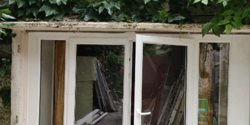 Porte Fenêtre PVC Blanc SIMP