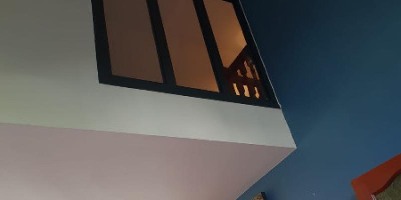 Fenêtre fixe en aluminum style verrière