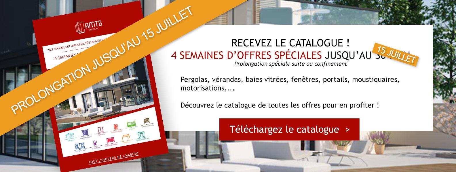 RECEVEZ LE CATALOGUE ! 4 semaines d'offres spéciales jusqu'au 30 juin